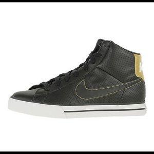 Nike Sweet Classic High (GS) Black/White-Gold